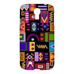Abstract A Colorful Modern Illustration Samsung Galaxy S4 I9500/i9505 Hardshell Case by Simbadda