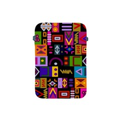 Abstract A Colorful Modern Illustration Apple Ipad Mini Protective Soft Cases by Simbadda