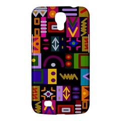 Abstract A Colorful Modern Illustration Samsung Galaxy Mega 6 3  I9200 Hardshell Case by Simbadda