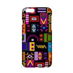 Abstract A Colorful Modern Illustration Apple Iphone 6/6s Hardshell Case by Simbadda
