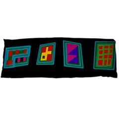 Abstract A Colorful Modern Illustration Body Pillow Case Dakimakura (two Sides) by Simbadda