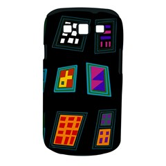 Abstract A Colorful Modern Illustration Samsung Galaxy S Iii Classic Hardshell Case (pc+silicone) by Simbadda