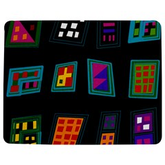 Abstract A Colorful Modern Illustration Jigsaw Puzzle Photo Stand (rectangular) by Simbadda