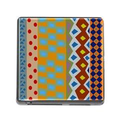 Abstract A Colorful Modern Illustration Memory Card Reader (square) by Simbadda