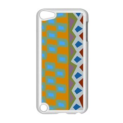 Abstract A Colorful Modern Illustration Apple Ipod Touch 5 Case (white) by Simbadda