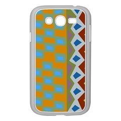 Abstract A Colorful Modern Illustration Samsung Galaxy Grand Duos I9082 Case (white) by Simbadda
