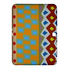 Abstract A Colorful Modern Illustration Samsung Galaxy Tab 4 (10 1 ) Hardshell Case  by Simbadda