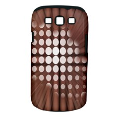 Technical Background With Circles And A Burst Of Color Samsung Galaxy S Iii Classic Hardshell Case (pc+silicone) by Simbadda