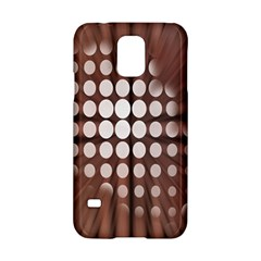 Technical Background With Circles And A Burst Of Color Samsung Galaxy S5 Hardshell Case  by Simbadda