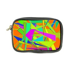 Background With Colorful Triangles Coin Purse by Simbadda