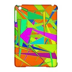 Background With Colorful Triangles Apple Ipad Mini Hardshell Case (compatible With Smart Cover) by Simbadda