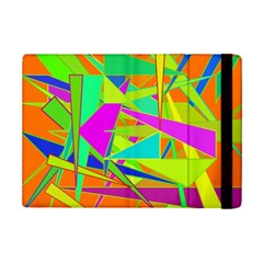 Background With Colorful Triangles Ipad Mini 2 Flip Cases by Simbadda