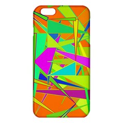 Background With Colorful Triangles Iphone 6 Plus/6s Plus Tpu Case by Simbadda