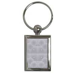Grid Squares And Rectangles Mirror Images Colors Key Chains (rectangle)