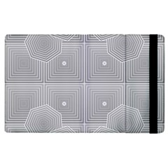 Grid Squares And Rectangles Mirror Images Colors Apple Ipad 3/4 Flip Case by Simbadda