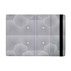 Grid Squares And Rectangles Mirror Images Colors Apple Ipad Mini Flip Case by Simbadda