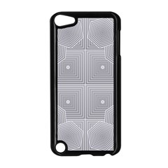 Grid Squares And Rectangles Mirror Images Colors Apple Ipod Touch 5 Case (black) by Simbadda