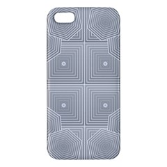 Grid Squares And Rectangles Mirror Images Colors Iphone 5s/ Se Premium Hardshell Case by Simbadda