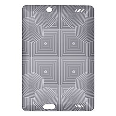 Grid Squares And Rectangles Mirror Images Colors Amazon Kindle Fire Hd (2013) Hardshell Case by Simbadda