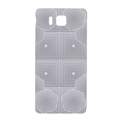 Grid Squares And Rectangles Mirror Images Colors Samsung Galaxy Alpha Hardshell Back Case by Simbadda
