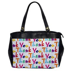 Wallpaper With The Words Thank You In Colorful Letters Office Handbags by Simbadda