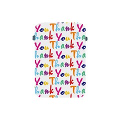 Wallpaper With The Words Thank You In Colorful Letters Apple Ipad Mini Protective Soft Cases by Simbadda