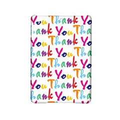 Wallpaper With The Words Thank You In Colorful Letters Ipad Mini 2 Hardshell Cases by Simbadda