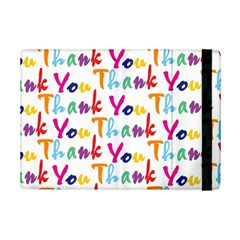 Wallpaper With The Words Thank You In Colorful Letters Ipad Mini 2 Flip Cases by Simbadda