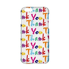 Wallpaper With The Words Thank You In Colorful Letters Apple Iphone 6/6s Hardshell Case