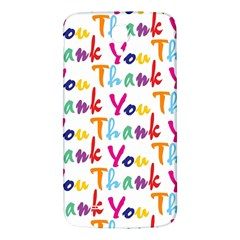 Wallpaper With The Words Thank You In Colorful Letters Samsung Galaxy Mega I9200 Hardshell Back Case by Simbadda