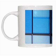 Modern Office Window Architecture Detail White Mugs by Simbadda
