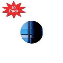Modern Office Window Architecture Detail 1  Mini Buttons (10 Pack)  by Simbadda