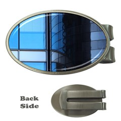 Modern Office Window Architecture Detail Money Clips (oval)  by Simbadda
