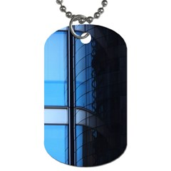 Modern Office Window Architecture Detail Dog Tag (one Side) by Simbadda