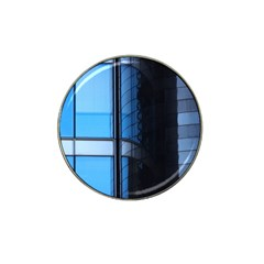 Modern Office Window Architecture Detail Hat Clip Ball Marker by Simbadda