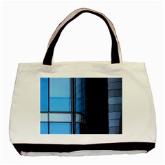 Modern Office Window Architecture Detail Basic Tote Bag by Simbadda
