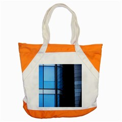 Modern Office Window Architecture Detail Accent Tote Bag by Simbadda