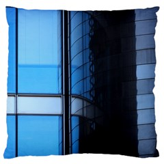 Modern Office Window Architecture Detail Large Cushion Case (two Sides) by Simbadda