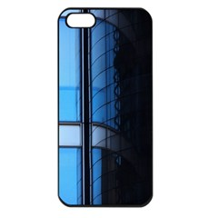 Modern Office Window Architecture Detail Apple Iphone 5 Seamless Case (black) by Simbadda