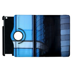 Modern Office Window Architecture Detail Apple Ipad 3/4 Flip 360 Case by Simbadda