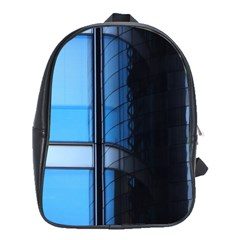 Modern Office Window Architecture Detail School Bags (xl)  by Simbadda
