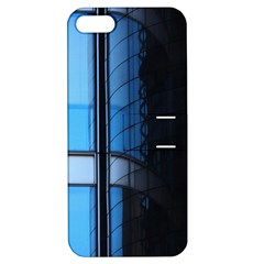 Modern Office Window Architecture Detail Apple Iphone 5 Hardshell Case With Stand by Simbadda