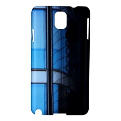 Modern Office Window Architecture Detail Samsung Galaxy Note 3 N9005 Hardshell Case by Simbadda