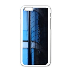Modern Office Window Architecture Detail Apple Iphone 6/6s White Enamel Case by Simbadda
