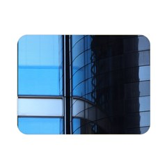Modern Office Window Architecture Detail Double Sided Flano Blanket (mini)  by Simbadda