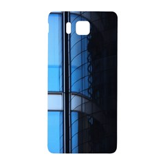 Modern Office Window Architecture Detail Samsung Galaxy Alpha Hardshell Back Case by Simbadda