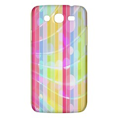 Colorful Abstract Stripes Circles And Waves Wallpaper Background Samsung Galaxy Mega 5 8 I9152 Hardshell Case  by Simbadda