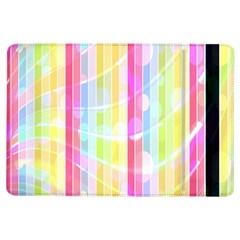 Colorful Abstract Stripes Circles And Waves Wallpaper Background Ipad Air Flip by Simbadda