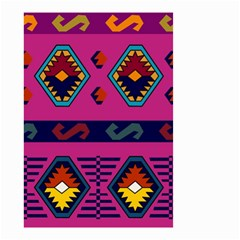 Abstract A Colorful Modern Illustration Small Garden Flag (two Sides) by Simbadda