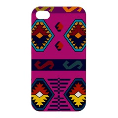Abstract A Colorful Modern Illustration Apple Iphone 4/4s Premium Hardshell Case by Simbadda